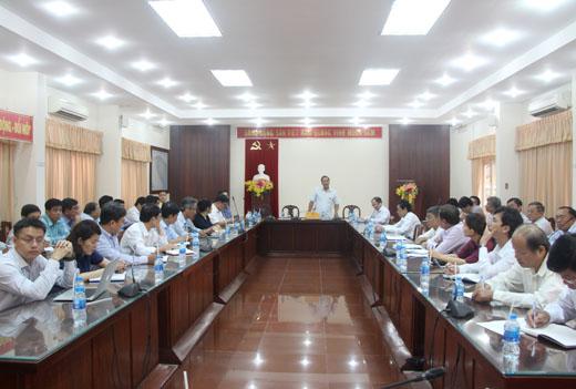 Lãnh đạo tỉnh Bến Tre làm việc với Phân hiệu ĐHQG-HCM tại tỉnh Bến Tre