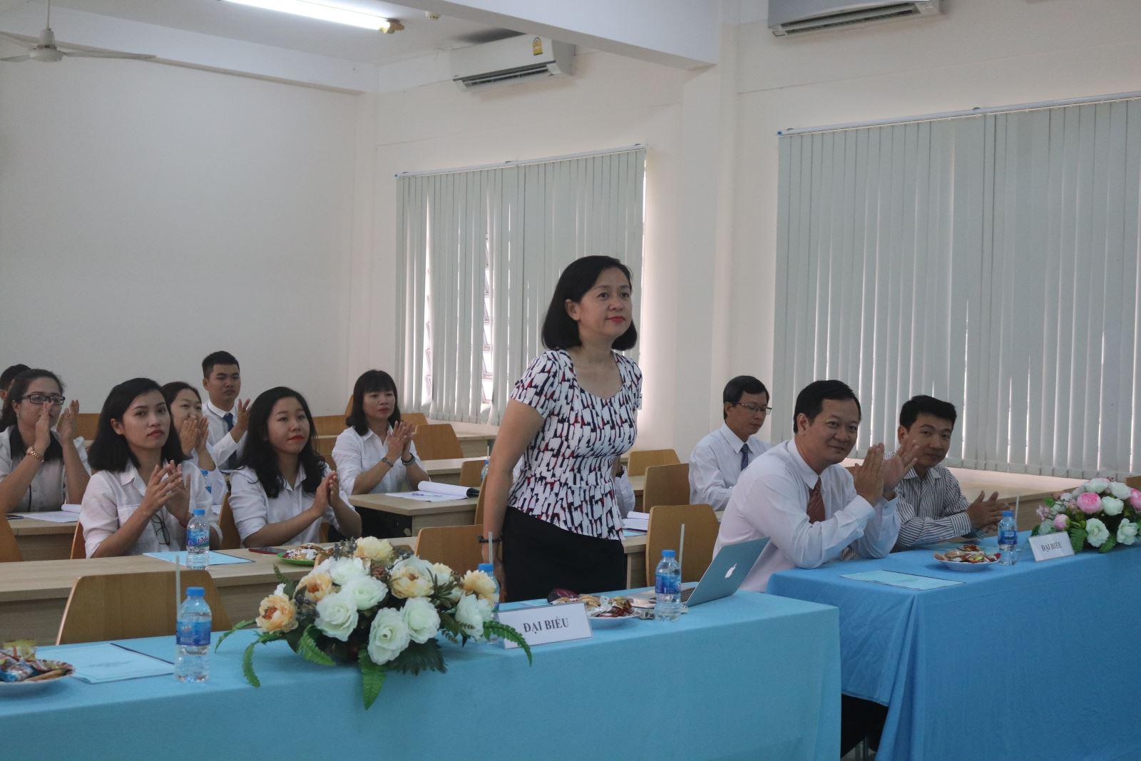 Hội nghị Thành lập Công đoàn cơ sở Phân hiệu ĐHQG-HCM tại tỉnh Bến Tre