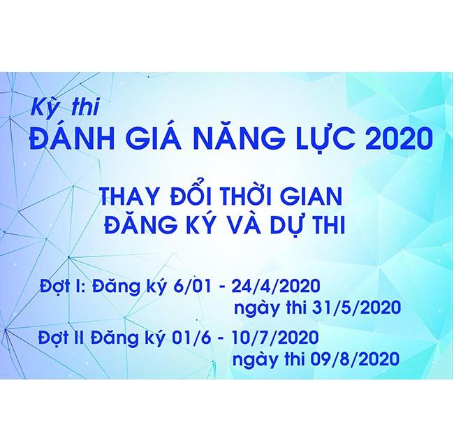 KỲ THI ĐÁNH GIÁ NĂNG LỰC (ĐHQG-HCM) NĂM 2020 - LỰA CHỌN CẦN THIẾT THỜI ĐIỂM HIỆN TẠI