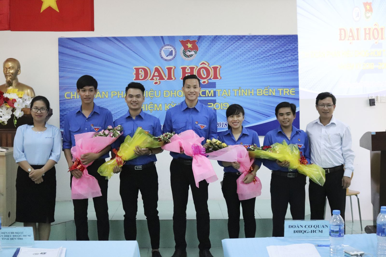 Đại hội Chi Đoàn Phân hiệu ĐHQG-HCM tại tỉnh Bến Tre Lần thứ I, Nhiệm kỳ 2018 - 2019 khép lại thành công tốt đẹp