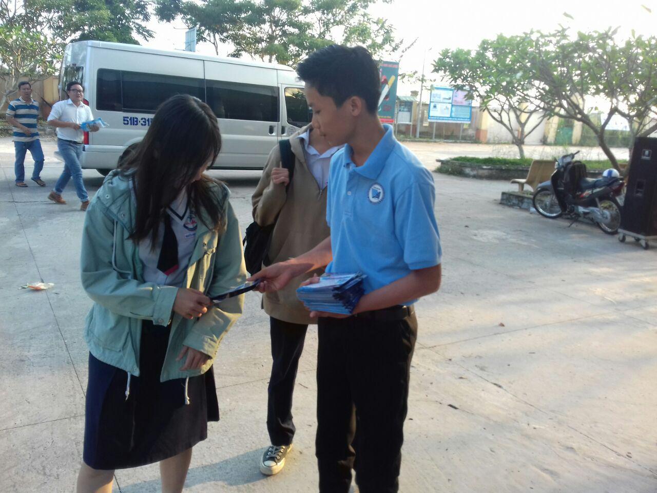 Phân hiệu ĐHQG-HCM tại tỉnh Bến Tre tham gia Tư vấn tuyển sinh 2018 tại tỉnh Đồng Tháp