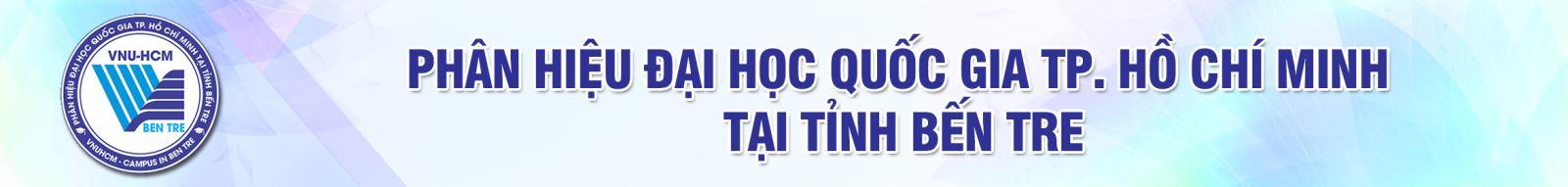 Phân hiệu Đại học Quốc gia Thành phố Hồ Chí Minh tại tỉnh Bến Tre