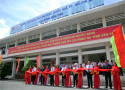 Thành lập Trung tâm đào tạo Đại học Quốc gia thành phố Hồ Chí Minh tại Bến Tre